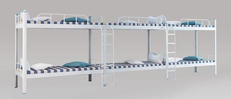 铭仁教育装备集团告诉您上下铺铁床如何养护使用时间更长