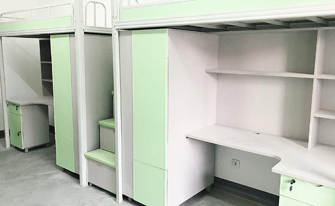 陕西理工大学 翻山越领 只为给你更好的学生公寓组合床