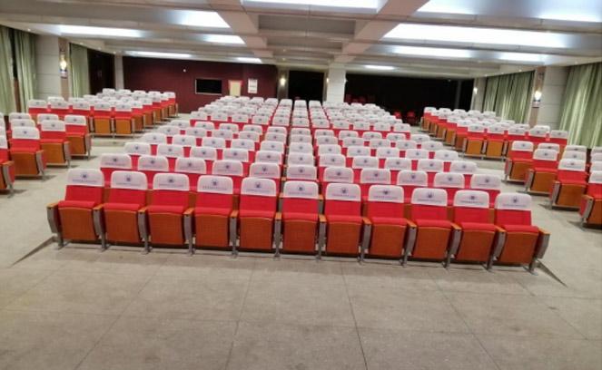 湖南特殊中等专业学校用礼堂椅 选择了铭仁家具