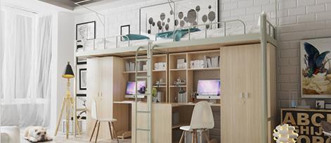 2021年,广东大学宿舍公寓床流行哪些款式?