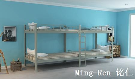 工厂宿舍二连4人位-侧梯-员工宿舍公寓床-MR-22C