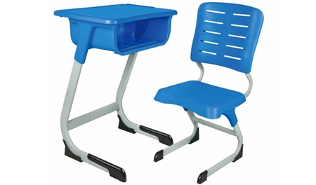 MR-0005单人课桌椅(厂家)