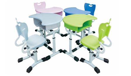MR-0018多人课桌椅(厂家)