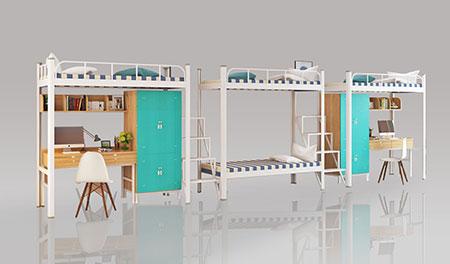 三连4人位-中梯-组合公寓床-MR-34Z