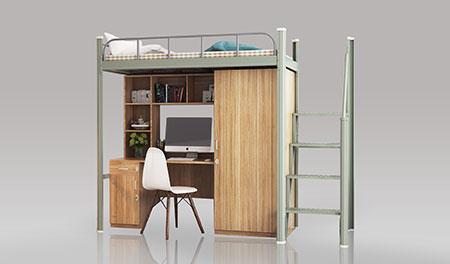 单连单人位-中梯-组合公寓床-MR-D1Z