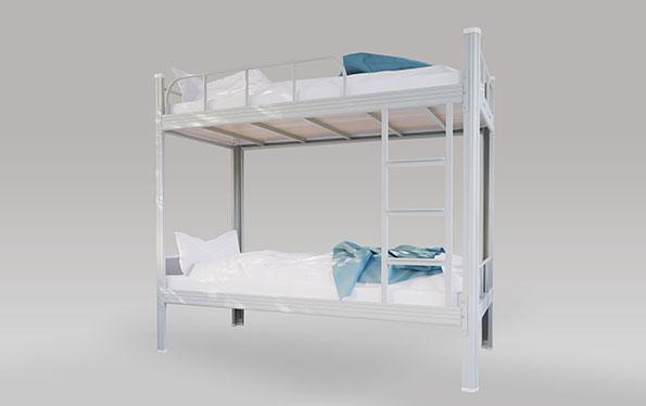 单连2人位-内梯-双层钢架床-MR-D2N