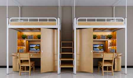 二连2人位-中梯-组合公寓床-MR-22Z