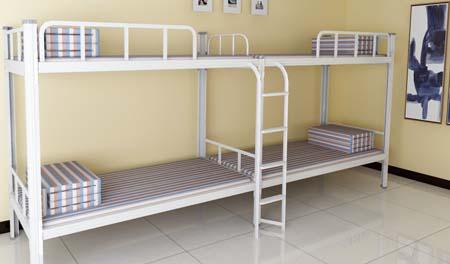 二连4人位-侧梯-双层钢架床-MR-24C