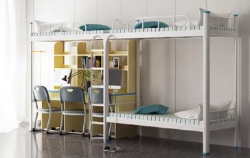 学生宿舍双层铁艺床