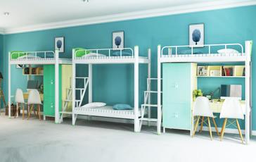 学校宿舍钢架床