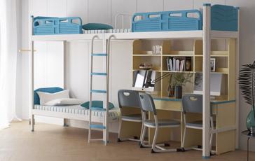 上下铺学生宿舍床